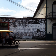 """Mi voto te bota"", Iquitos - Perú, 2015."