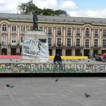 Viva el paro agrario, Bogotá - Colombia 2013.